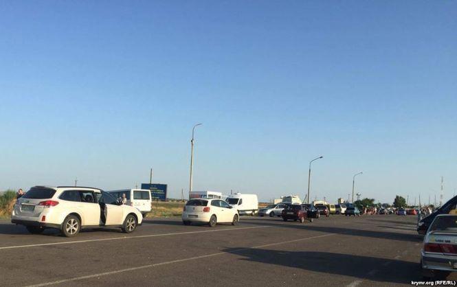 Россия частично возобновила пропуск в Крым