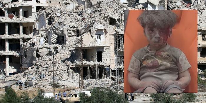 Сеть возмутило фото окровавленного сирийского мальчика (ФОТО) 18+