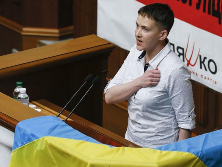 Заявления Савченко о «предательстве» и пустые окопы — ложь