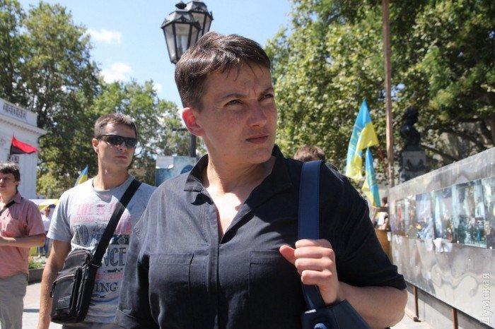 В «Батькивщине» назвали объявление голодовки Савченко актом отчаяния