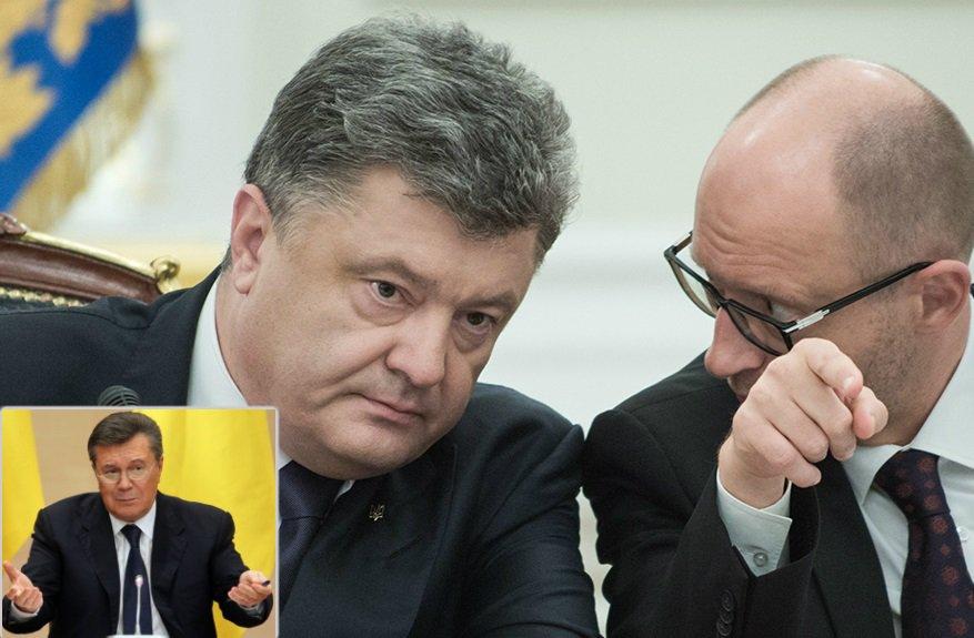 Янукович требует «очной ставки» с Порошенко и Яценюком по делу Євромайдана