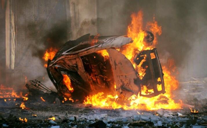 В тяжелом состоянии: в Луганске взорвали джип Плотницкого (Опубликовано видео)