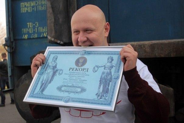 Львовский врач-педиатр установит мировой рекорд Гиннеса, чтобы помочь онкобольным детям