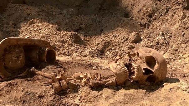 Ужасная находка во Львове. Ученые нашли кости замученных НКВДистами украинцев