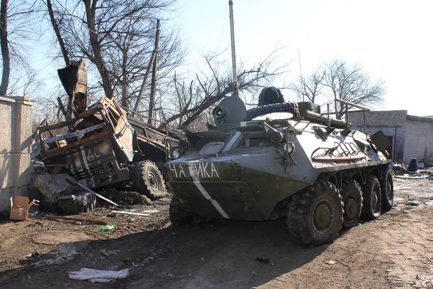«Срочная новость» Боевики сняли под Горловку БМП, БТРы, танки и тяжелую артиллерию «(видео)