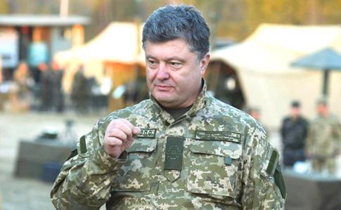 Порошенко привел в усиленную боевую готовность все подразделения возле Крыма