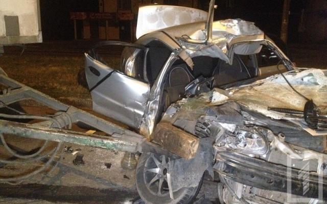 В Кривом Роге ночью произошло смертельное ДТП (ФОТО)