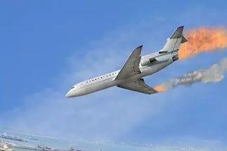 Во Франции разбился самолет: есть погибшие