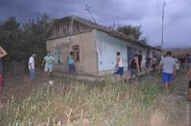 В Сети появилось видео погрома цыганских домов под Одессой
