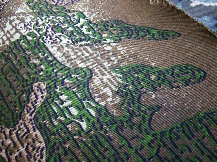Мега-стойкую камуфляжную ткань производят на Тернопольщине