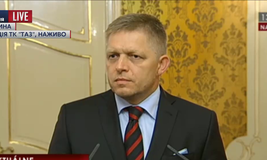 Премьер Словакии обвинил Украину в нарушении Минских соглашений