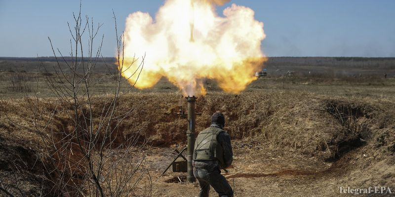 Боевики нарушили режим «тишины», применив минометы 120-мм калибра, — пресс-центр