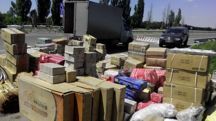 В зоне АТО задержали контрабанду на 3 млн грн
