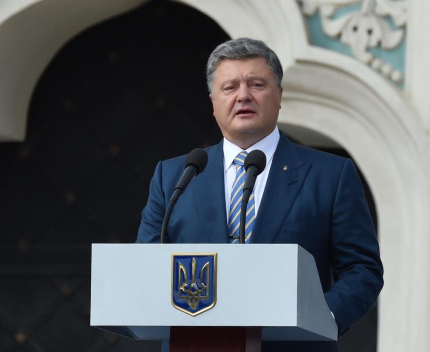 «5 по 50» — как пьяный Порошенко выступал на открытии детского сада в Днепропетровской области (видео)