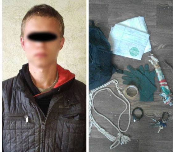 В Мариуполе мужчина пытался задушить полицейского, охраняющего стратегический объект