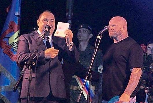 Скандальный американский боец смешанного стиля Джефф Монсон стал гражданином так называемой «ЛНР».