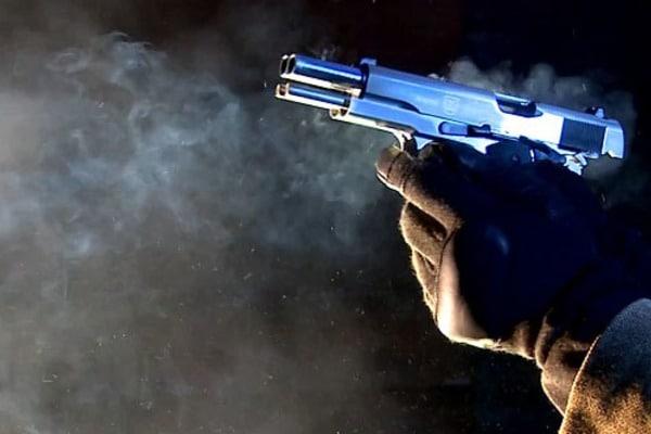 В Киеве расстреляли человека: опубликованы фото