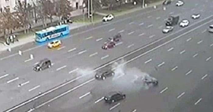 Автомобиль Путина попал в смертельное ДТП: видео