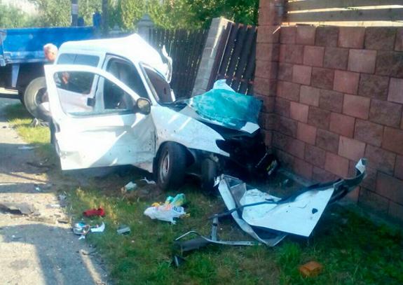 Трагическое ДТП на трассе «Киев-Чоп»: Погибли два ребенка и водитель (ФОТО)