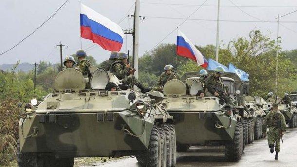 Россия разворачивает полевой лагерь на границе с Украиной