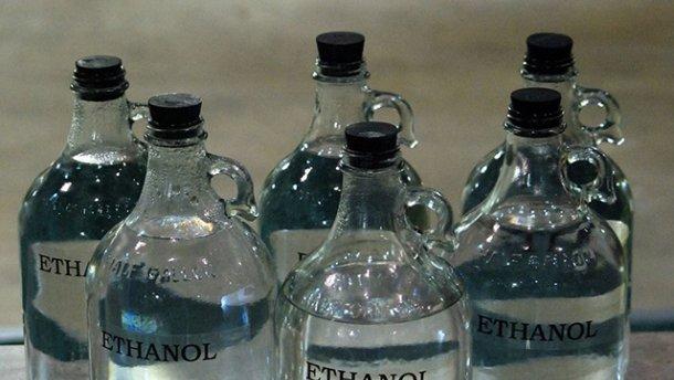 СБУ изъяла контрабандного спирта на миллион гривен