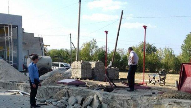 На Хмельнитчине произошел взрыв на АЗС, есть жертвы