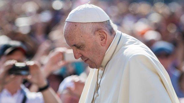 Папа Франциск собрал для Донбасса 8 миллионов евро
