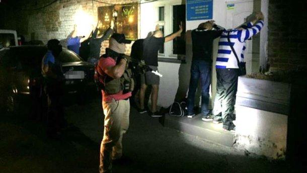 СБУшники ликвидировали банду рэкетиров