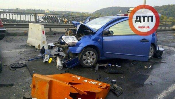 Пьяный водитель устроил серьезное ДТП с пожаром (ВИДЕО)