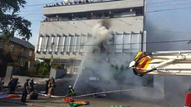 Рассматриваем и самоподжог, – Аваков о версии пожара на «Интере»
