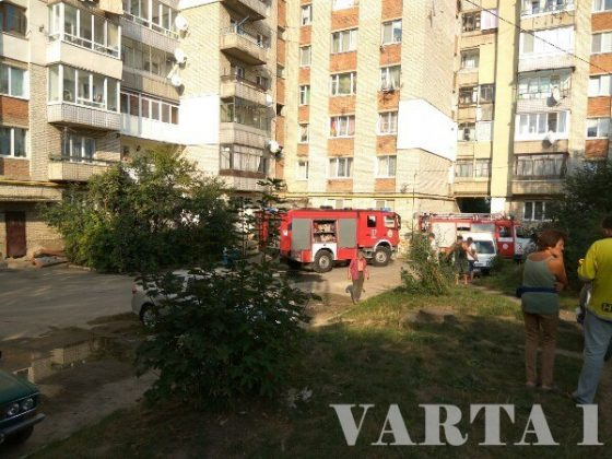 На Львовщине вспыхнул пожар. Сгорели две квартиры (фото)