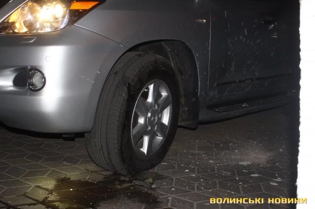 В Луцке устроили взрыв: опубликованы фото