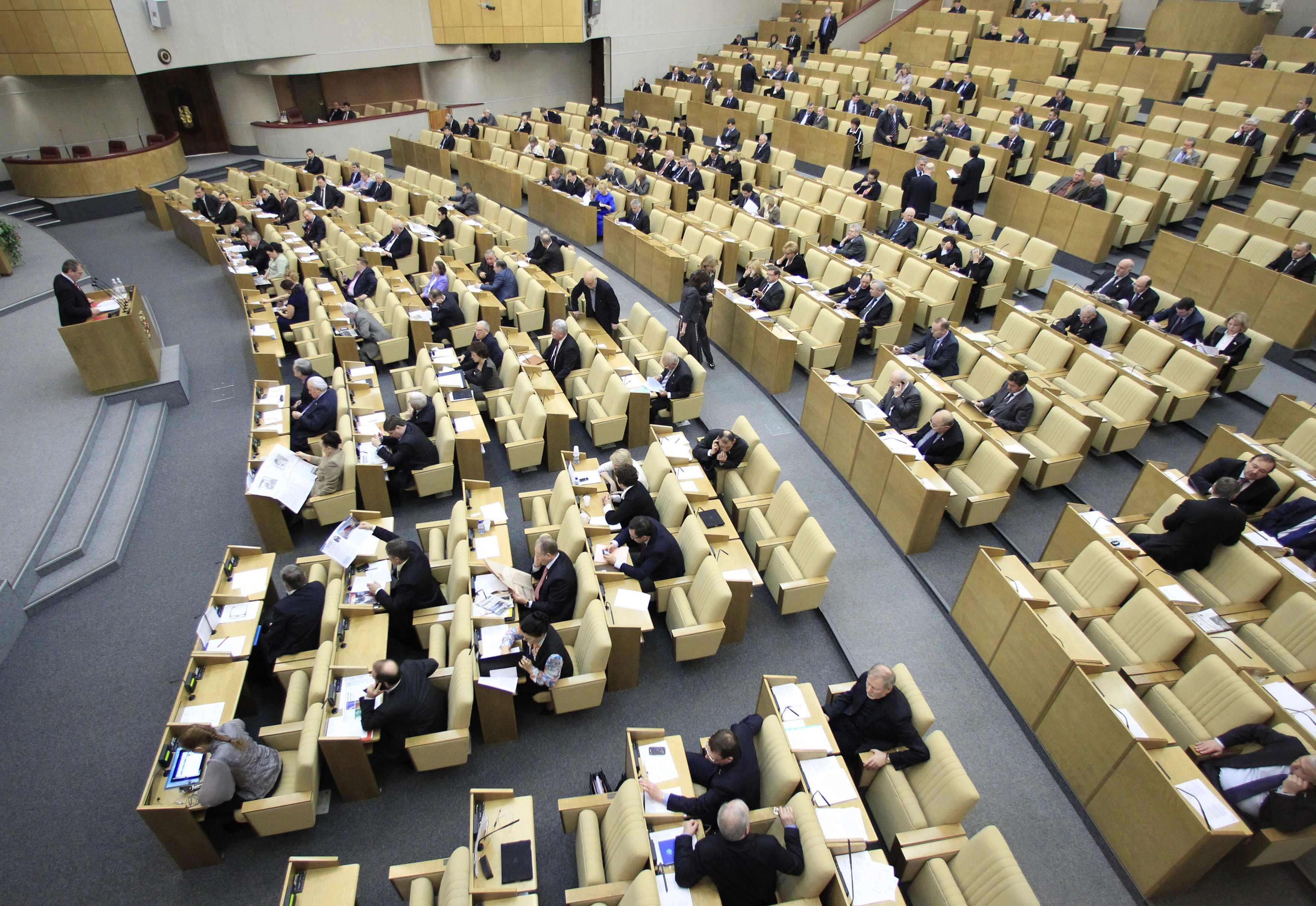 В ВР хотят признать Госдуму незаконной
