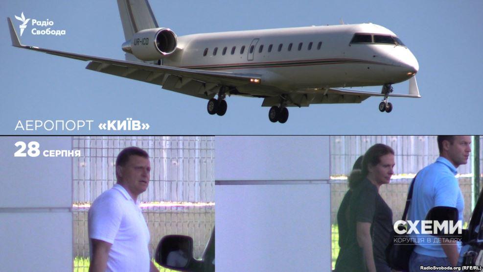 Сергей и Юлия Левочкины летают на частном самолете за 40000000 долларов