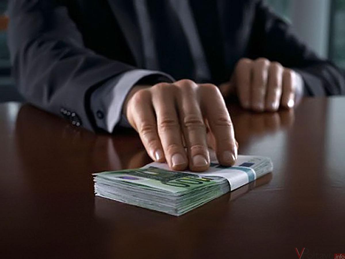 Взяточник-налоговик заплатит только 25 500 гривен штрафа