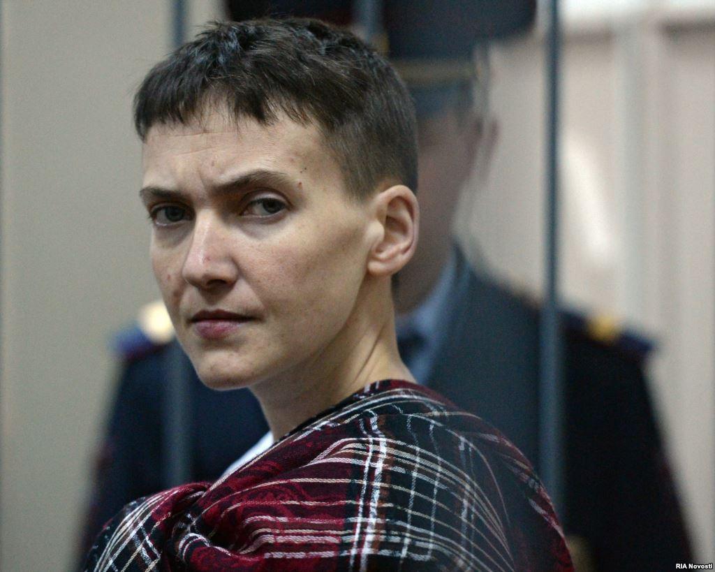Савченко рассказала, за чей счет летала в США