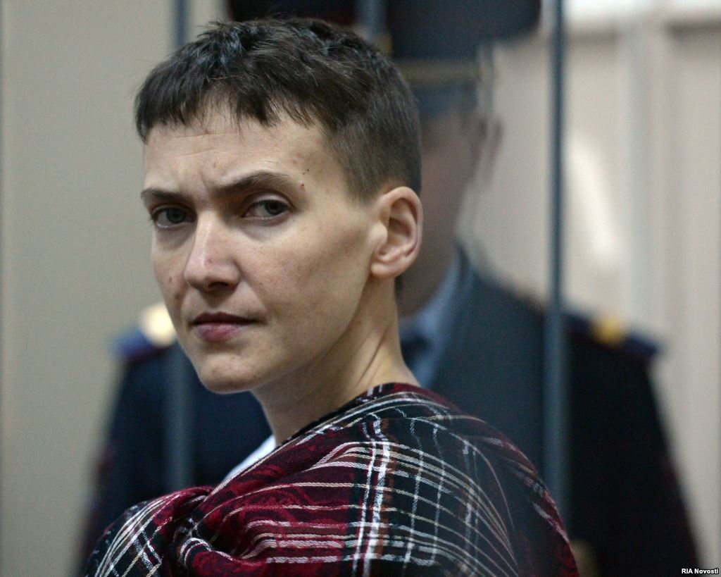 Савченко будет защищать свой закон