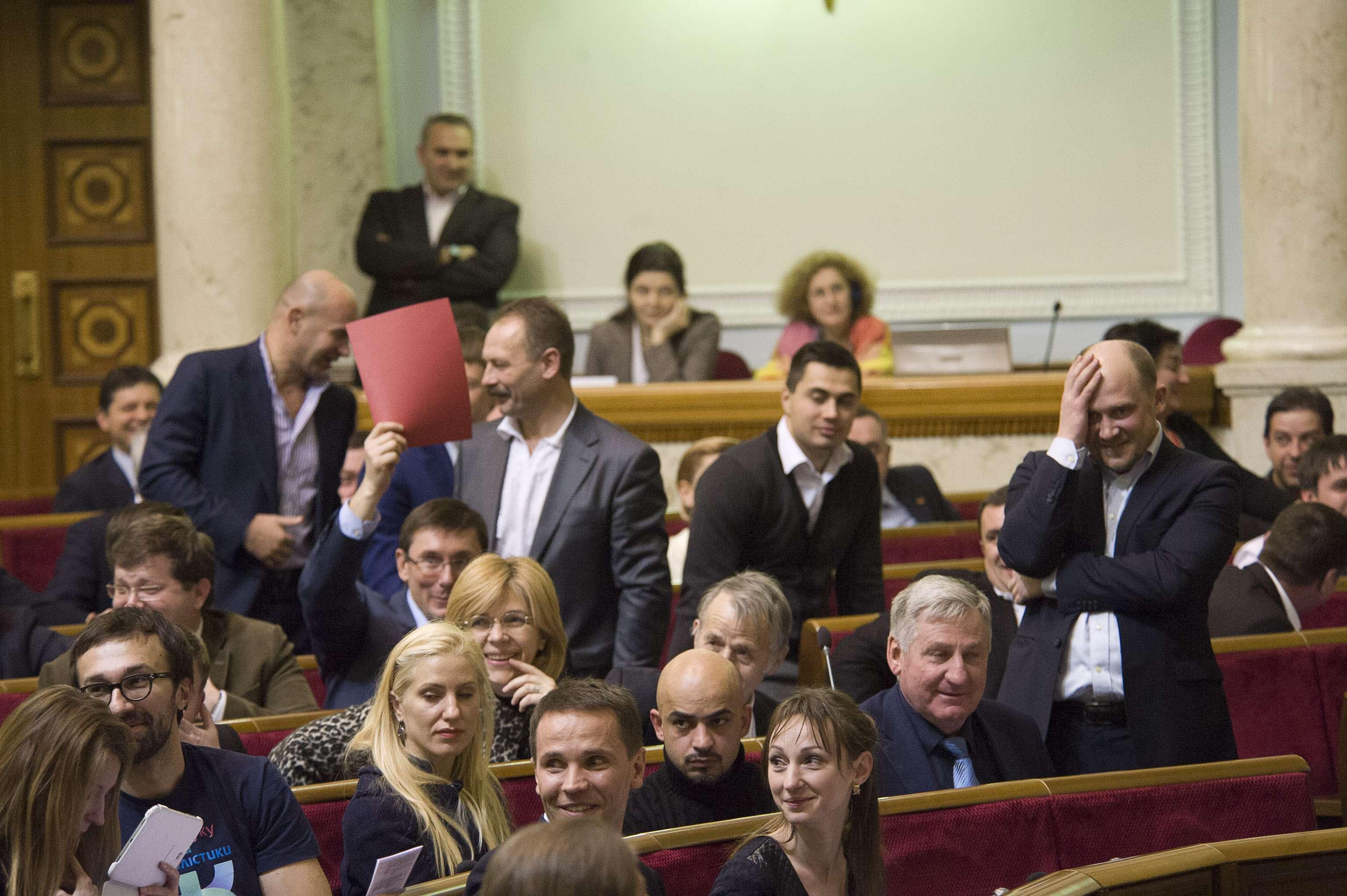 Лидер украинской партии возмутил Сеть своим хамским поведением (фото, видео)