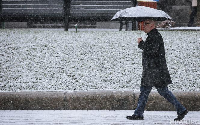 В каких городах Украины завтра точно выпадет снег: достоверная информация