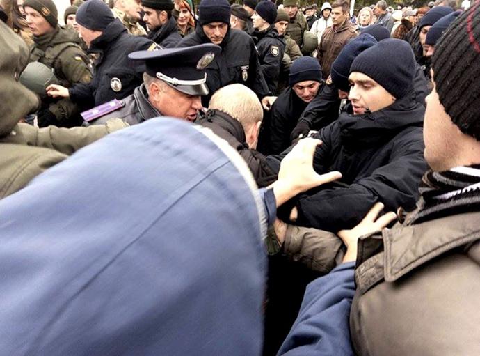 В Одессе пророссийские активисты подрались с представителями «Правого сектора»