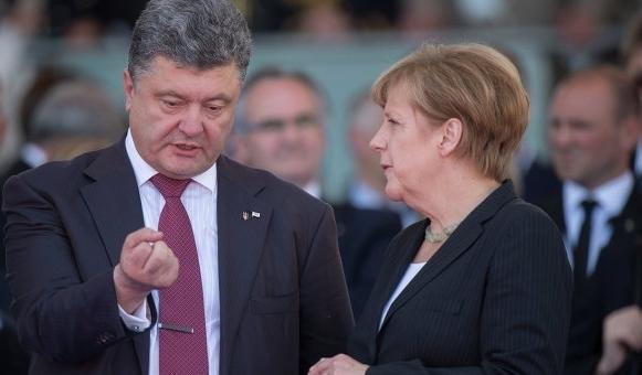 Стало известно, о чем Порошенко договорился с Меркель