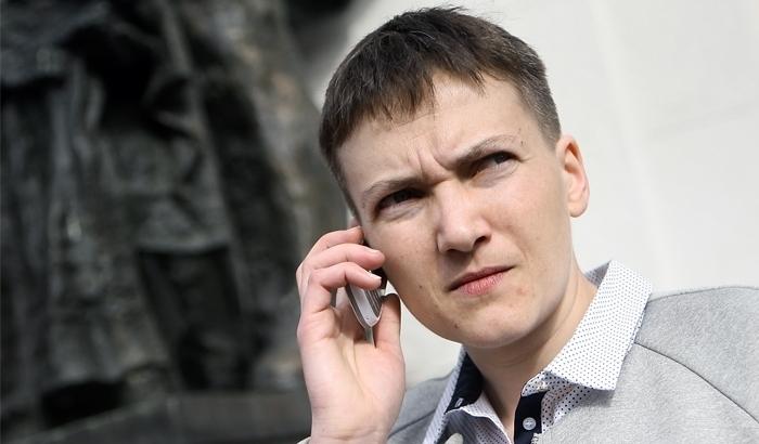 Украинской власти посоветовали угомонить Савченко