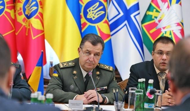 Полторак пообещал украинским воинам американское оружие
