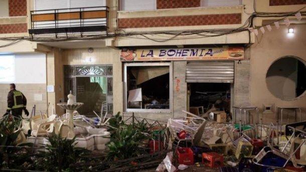 Мощный взрыв в кафе в Испании: пострадали 77 человек (ВИДЕО)