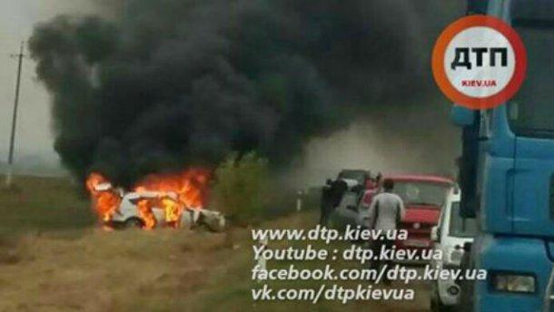 Хасиды попали в серьезное ДТП на трассе Киев-Одесса