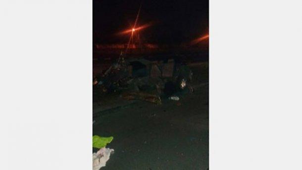 Ужасное ДТП в Харькове. Машину разорвало на части