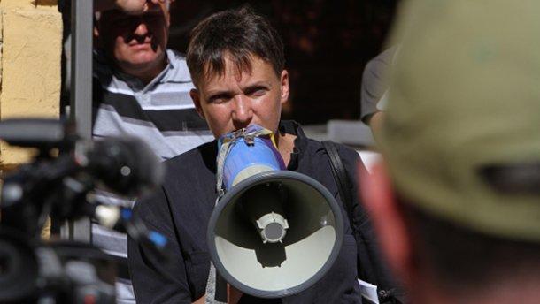 Савченко пыталась встретиться с главарем боевиков, – журналист