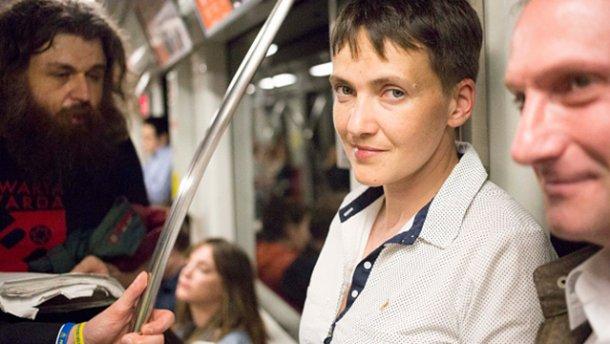 Савченко не ездила в Донецк к Захарченко, – пресс-секретарь