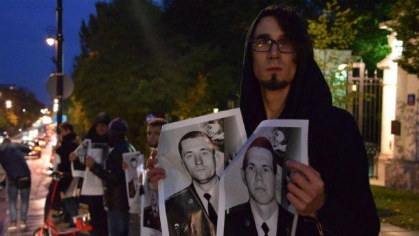 Украинцы в Польше напомнили Путину о его преступлениях (ФОТО)