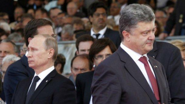 Порошенко пока не дал согласия на встречу с Путиным